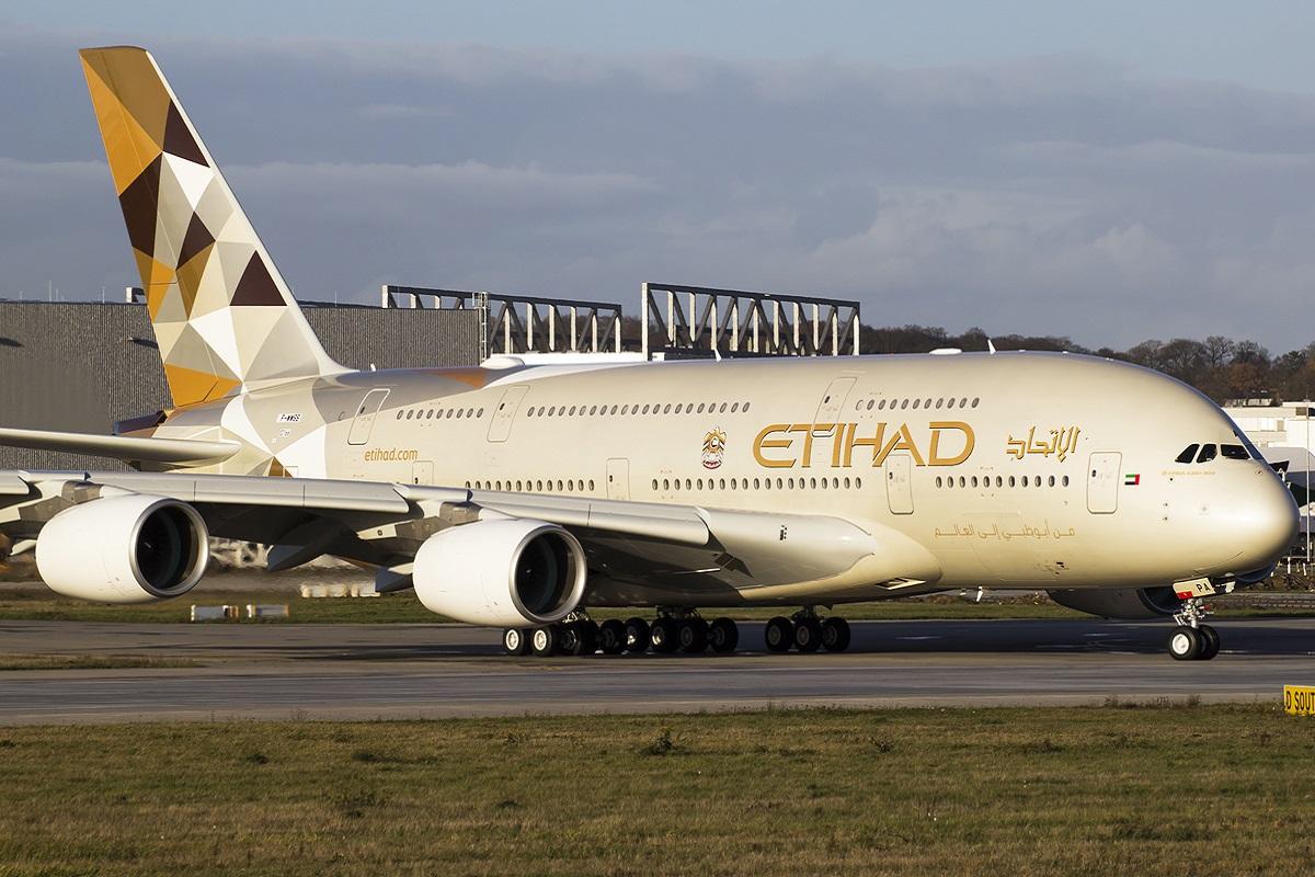 Ilustrační foto Etihad Airways